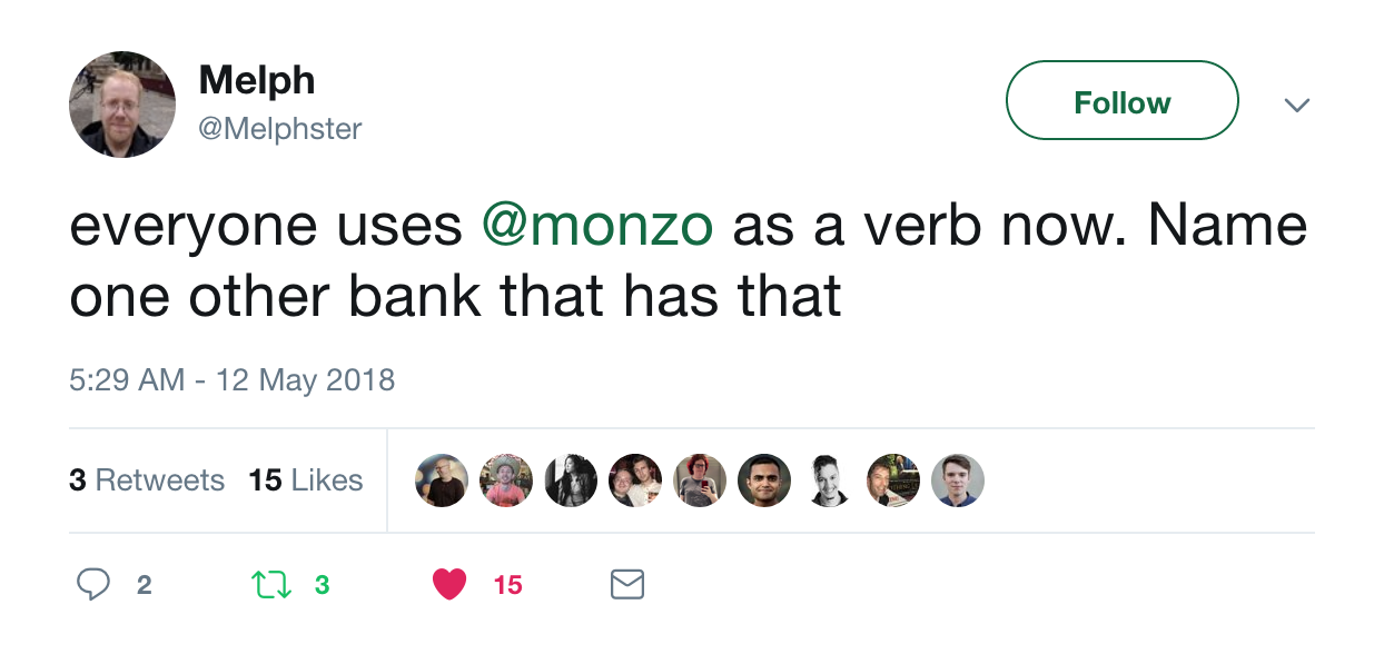 Monzo, Brand Purpose, Jobs to be Done